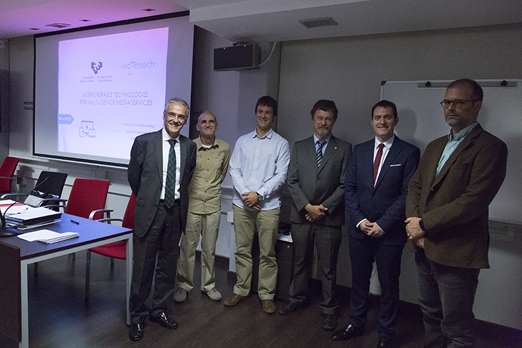 Mikel Zorrilla presented his doctoral dissertation: Interoperable Technologies for Multi-device Media Services
