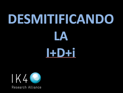 "K4 and Donostia-San Sebastian City Council are organising a symposium to ""demystify R&D&i"" on 29th October. Registration open!"