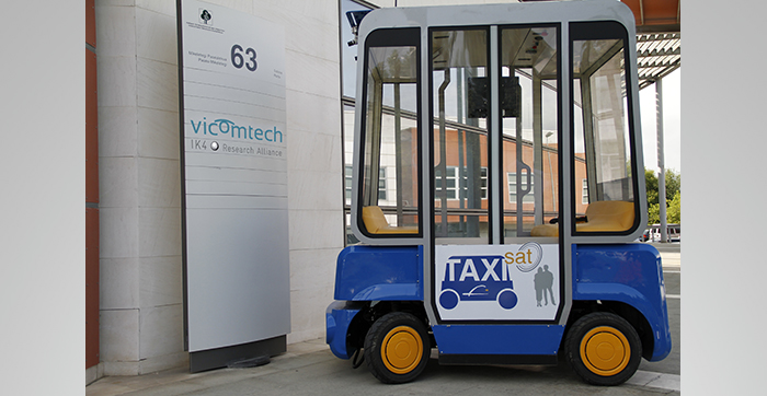 Workshop: The final results of the FP7 project Taxisat will be presented at the Travelling the road through the new technology for driverless vehicles