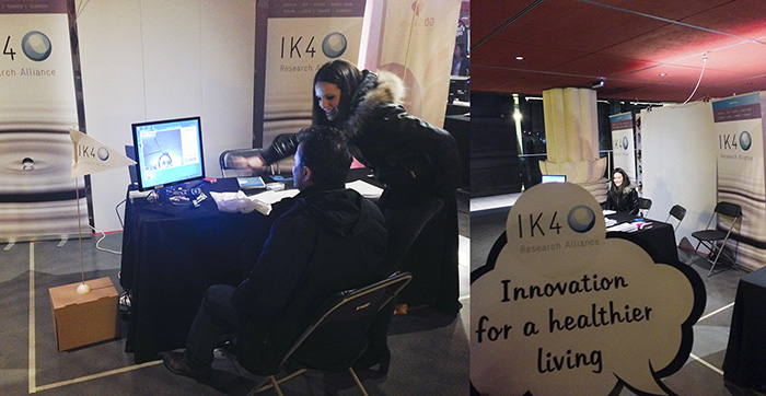 Vicomtech-IK4 participates in the Global Innovation Day held at the Alhóndiga in Bilbao last January 30th