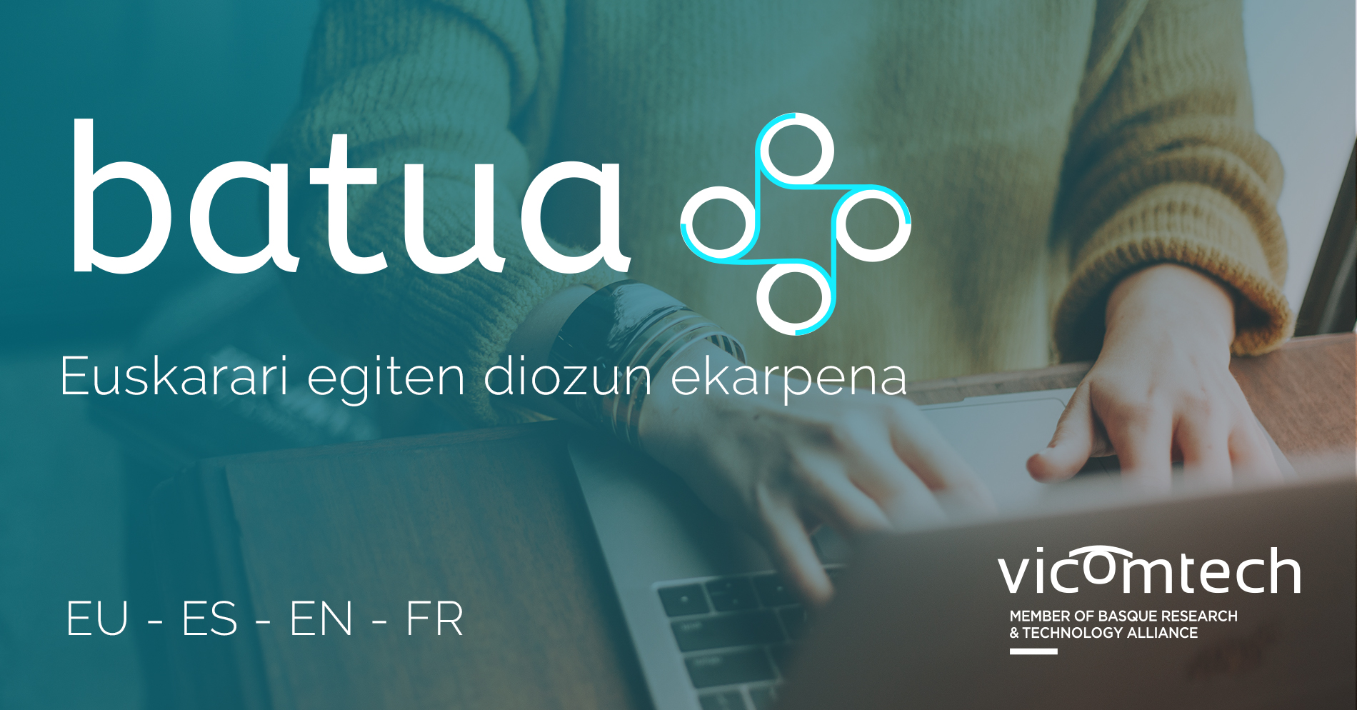 Batua.eus goes one step further and expands its translation services into English and French