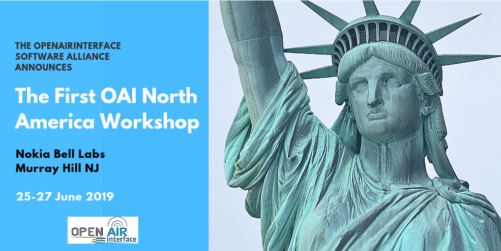 OpenAirInterface North America Workshop: Latest advances of FeMBMS and 5G Broadcast in OAI