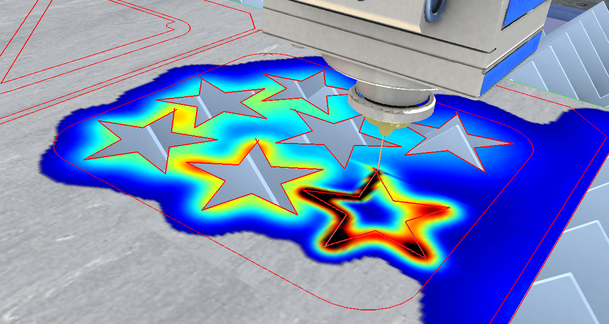 Lantek and Vicomtech bring interactive 3D simulation to sheet metal cutting heat processes with BeroSim