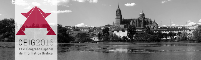 Vicomtech-IK4 participates with three papers in the XXVI Spanish Congress on Computer Graphics (CEIG) to be held in Salamanca next September 13 to 16