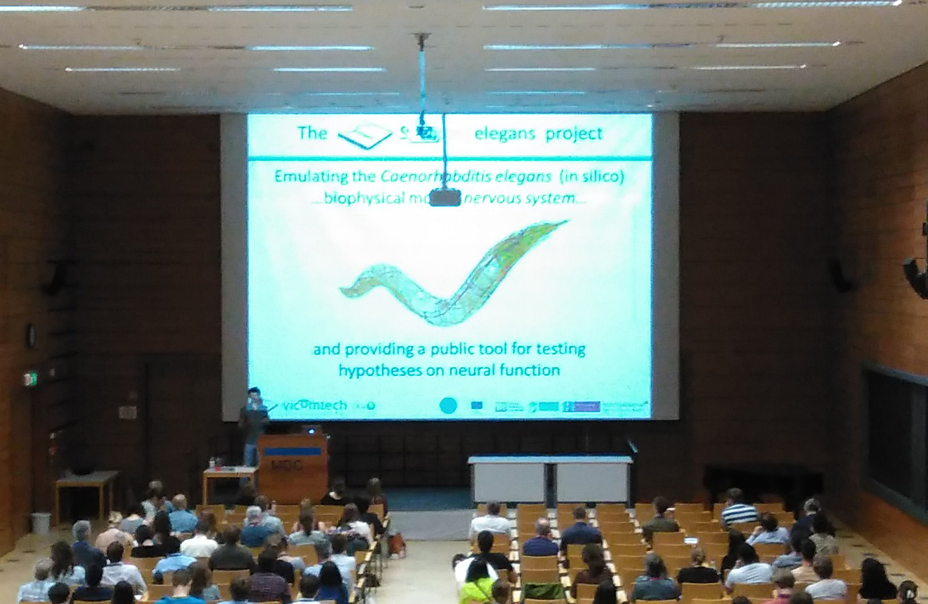 Vicomtech-IK4 presents the results of the Si Elegans European Project in the European Worm Meeting Conference held in Berlin