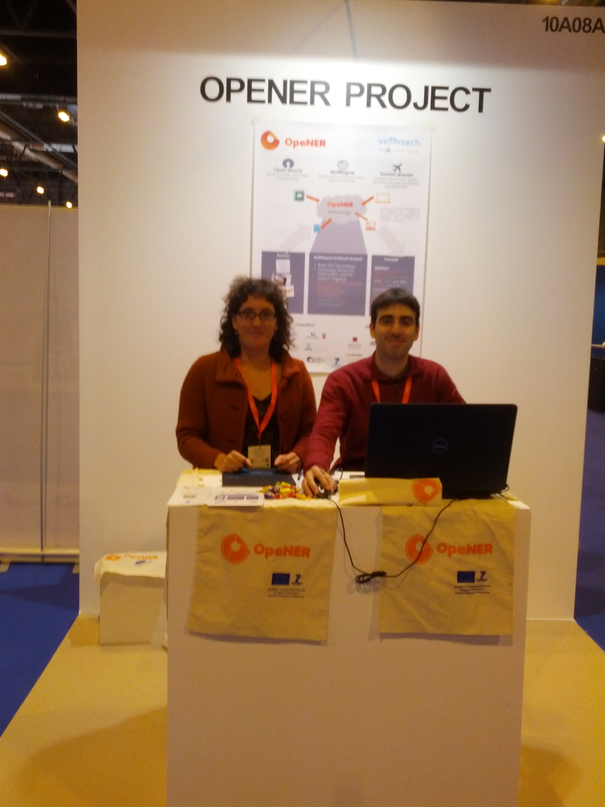 OpeNER FP7 project at FITUR, the International Tourism Trade Fair, from 22nd to 26th January 2014