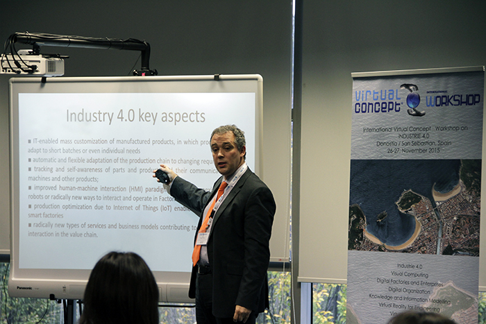 Vicomtech-IK4 organises the Virtual Concept International Workshop about Industry 4.0