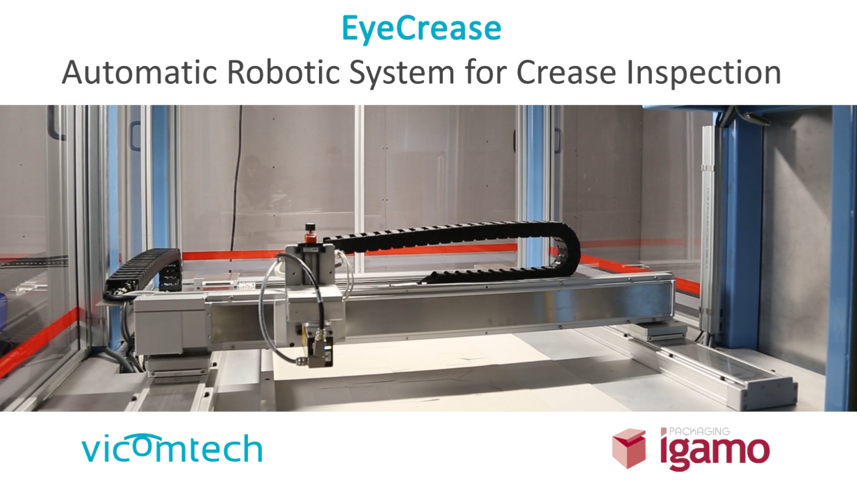 Robotic automatic crease inspection system
