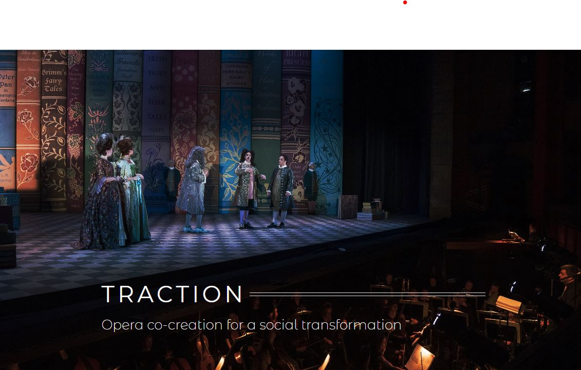 Opera co-creation for a social transformation